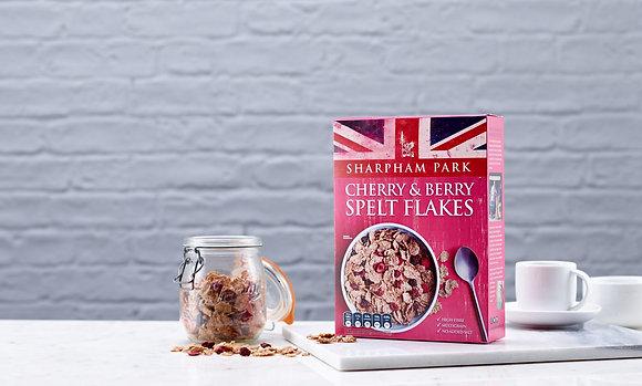 Cherry & Berry Spelt Flakes