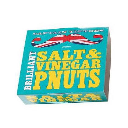 Captains Tiptoes Roasted Tangy Salt & Vinegar Peanuts