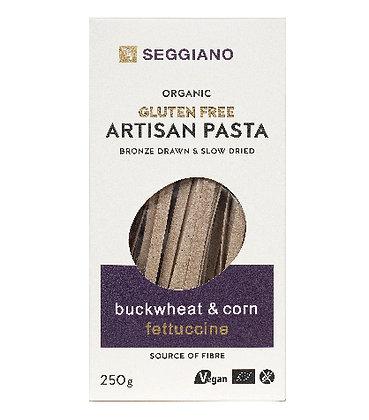 Seggiano Organic Gluten Free Buckwheat & Corn Fettuccine 250g