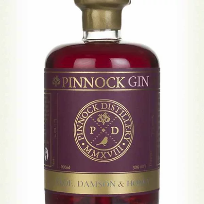 Pinnock Sloe, Damson & Honey Gin (30% ABV) 50cl