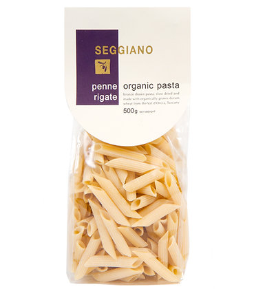 Seggiano Organic Penne Rigate Pasta 500g