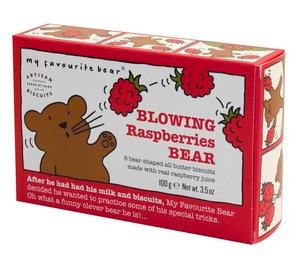 My Favourite Bear -  Blowing Raspberry Bear Box