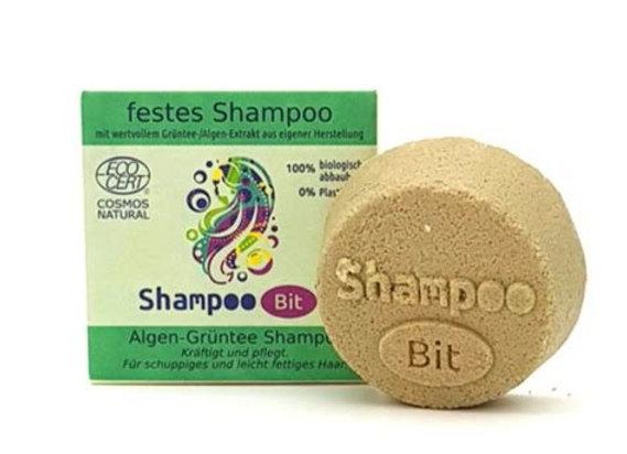ShampooBit Alge-Grüntee