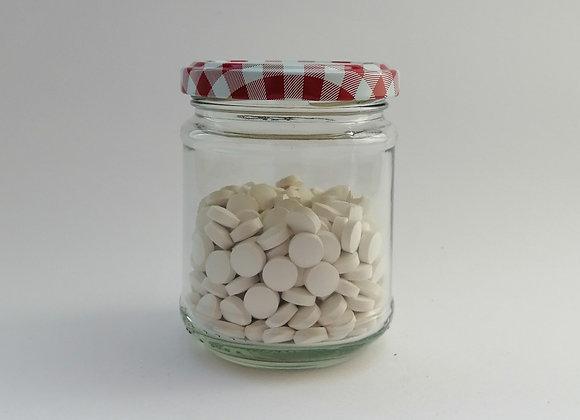 Zahnputztabletten mit Fluorid
