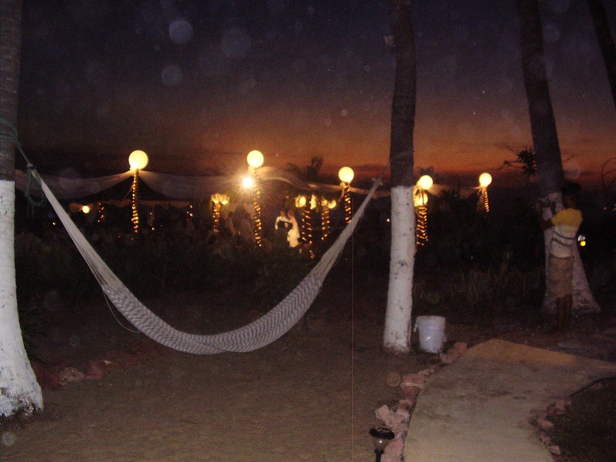 noche de bodas en el Gilda