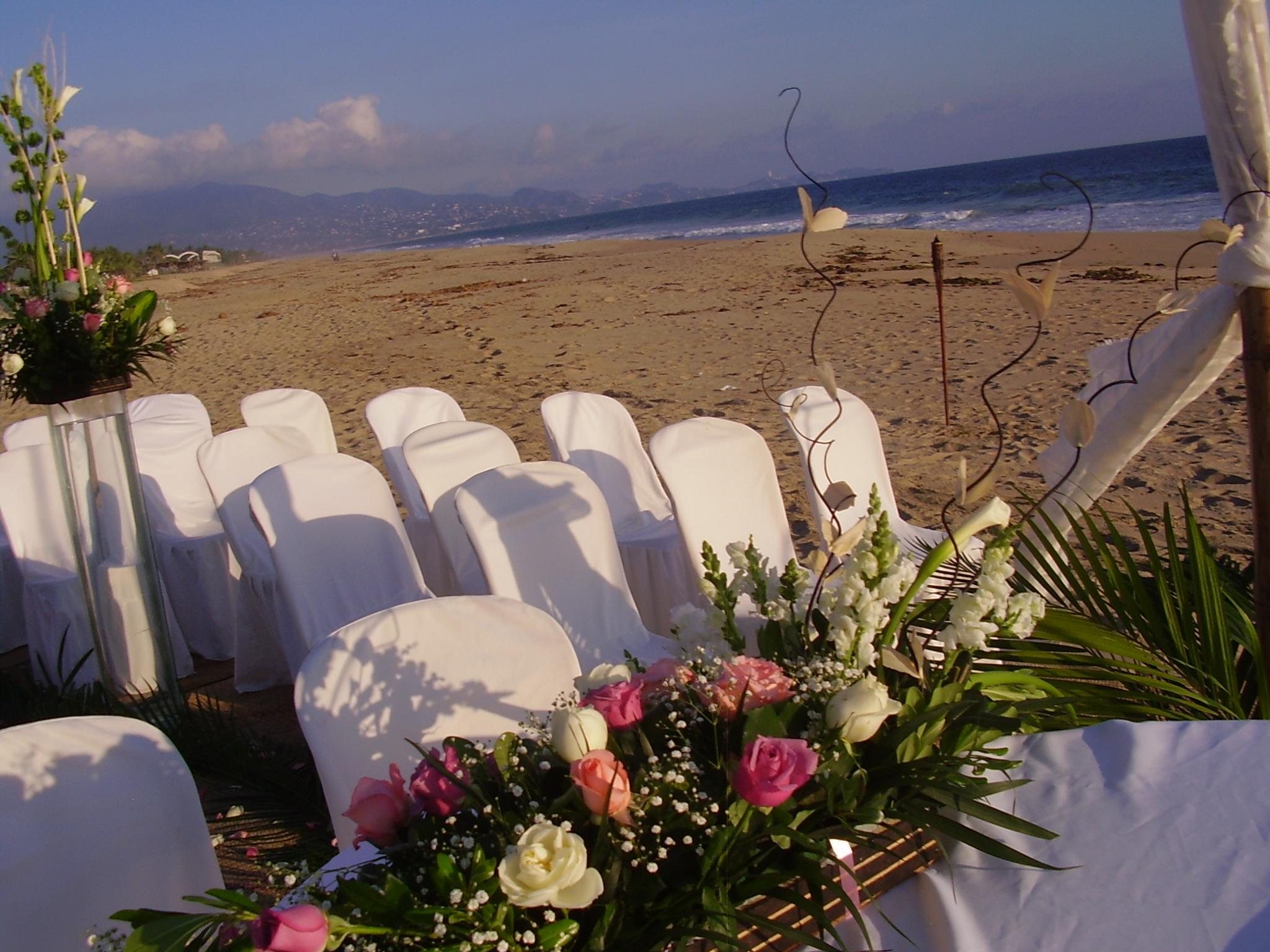 capilla en la playa