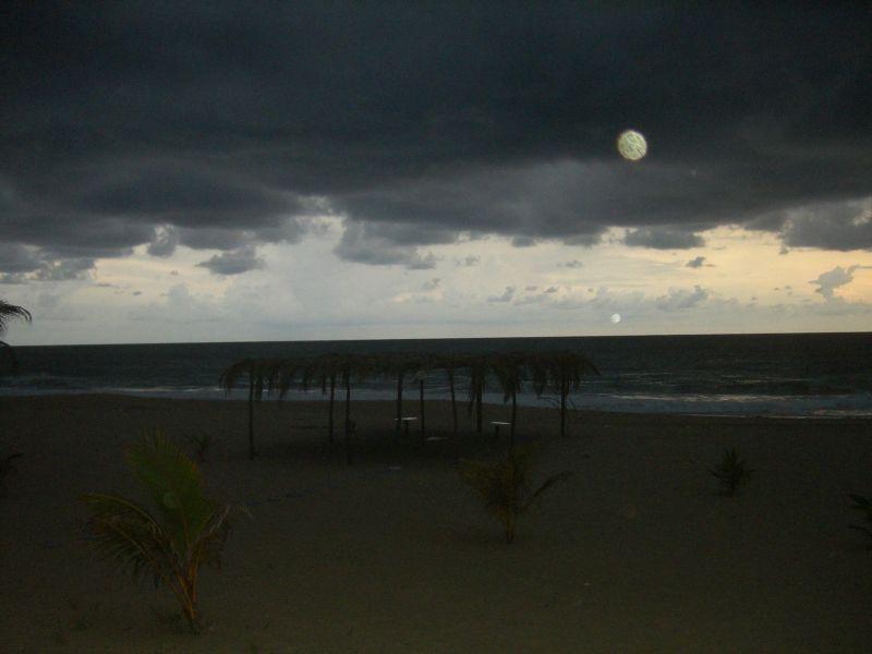 Mondnacht am Strand