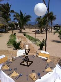 mesa boda en el Gilda