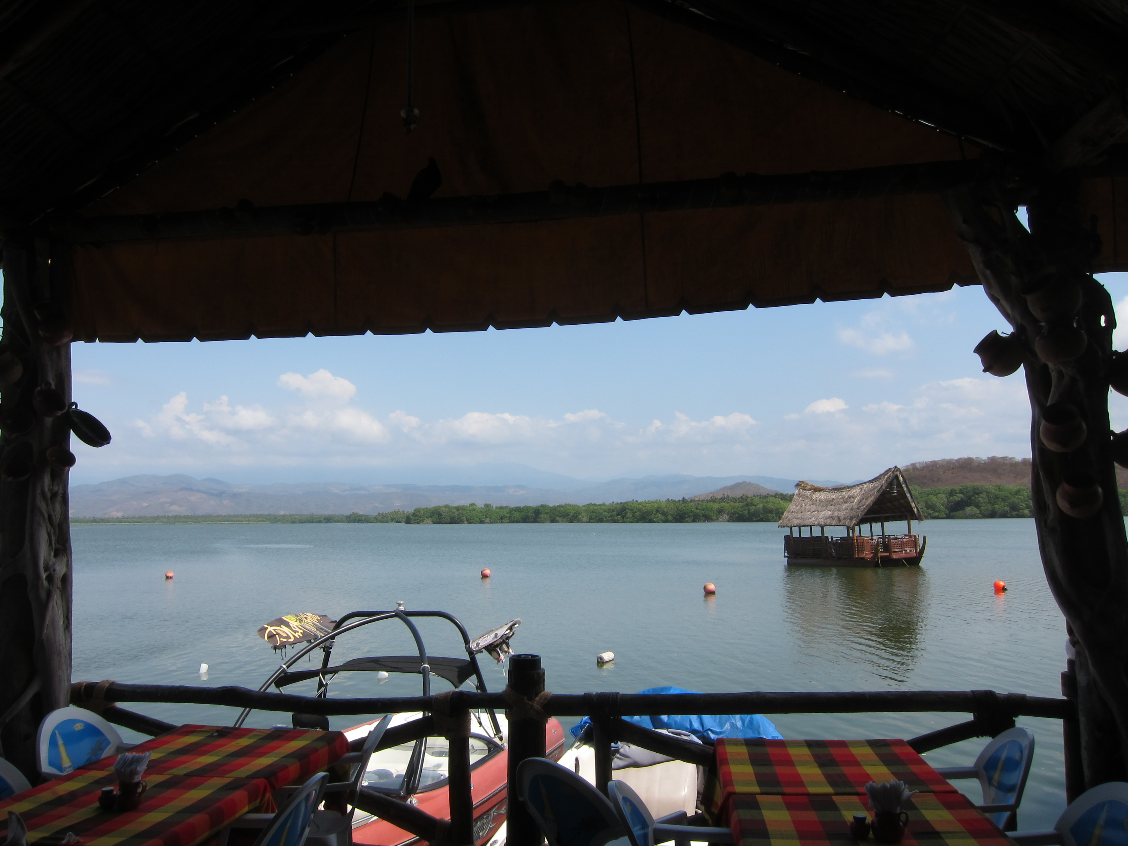 Blick auf die Lagune
