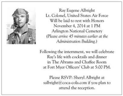 Service at Arlington National Cemetery