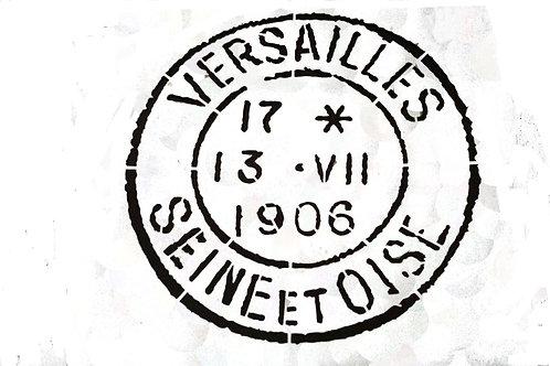 """Versailles Stencil 12"""" x 12"""""""