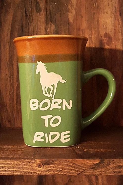 """Born to Ride"" Mug"