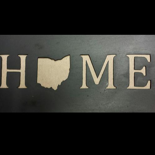 """Home Stencil 4"""" x 10"""""""