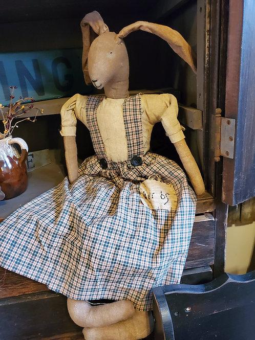 Primitive Bunny Doll