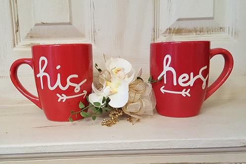 His & Hers Mug Set