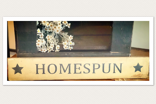 Homespun Sign
