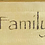 Thumbnail: Faith, Family, Friends Sign