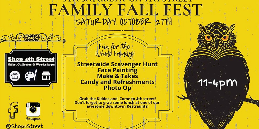 4th on 4th: Family Fall Fest