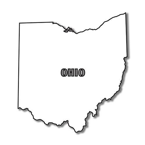 """Ohio Stencil 8"""" x 8"""""""