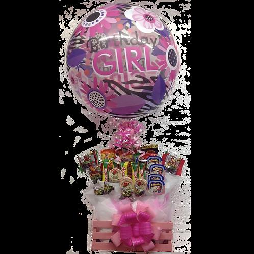 Birthday con Globo Burbuja