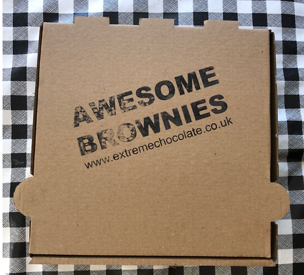 Box of 4 Awesome Brownies