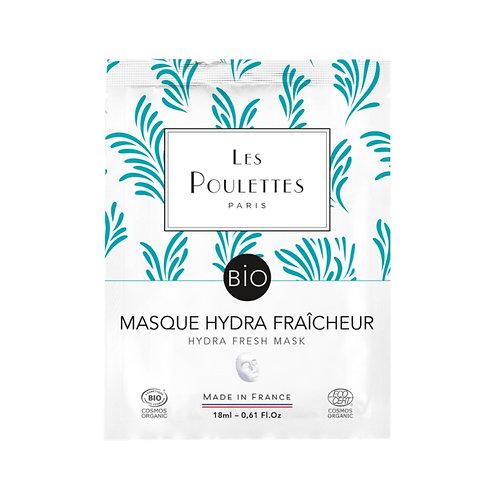 LES POULETTES Masque Bio - Hydra Fraicheur