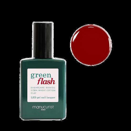 MANUCURIST Vernis Semi Permanent Green Flash - Red Cherry