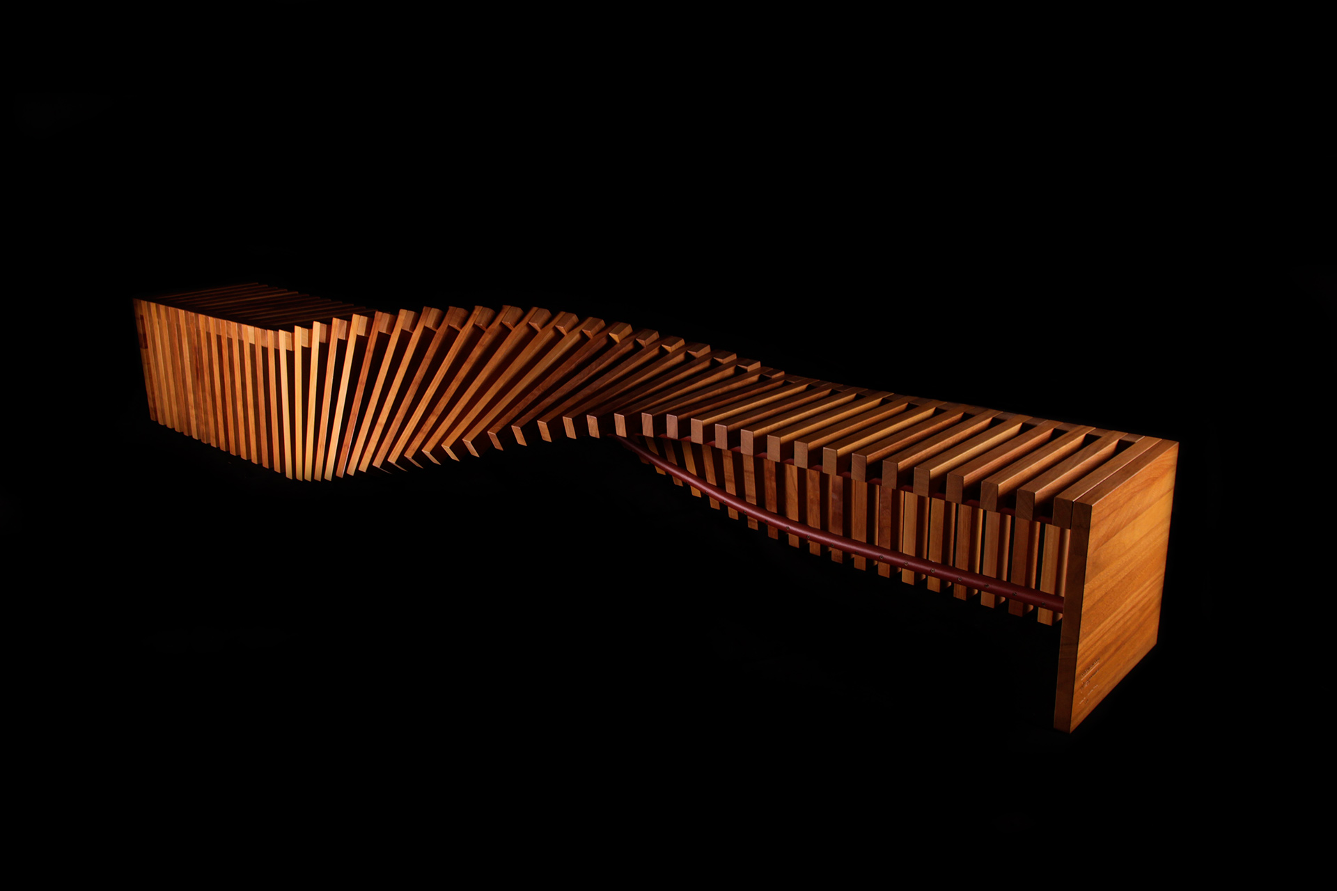 twisted bench