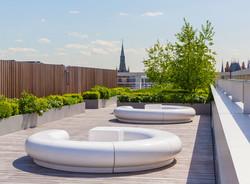 halo 08_green_revolution_garden_kings_cross_pancras_circular_white_grp_plastic_furniture.jpg