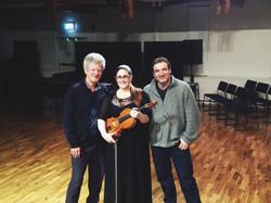 MMus recital with Donald Maurice and John Psathas