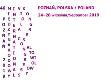 2019 46th International Viola Congress | Poznan, Poland