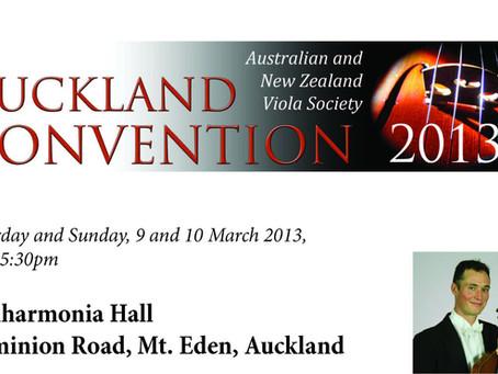 2013 Viola Convention