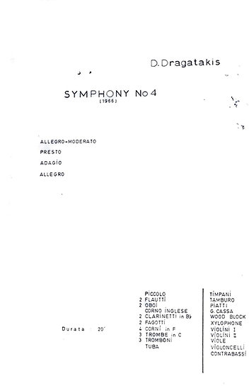 Symphony No. 4 (1966)