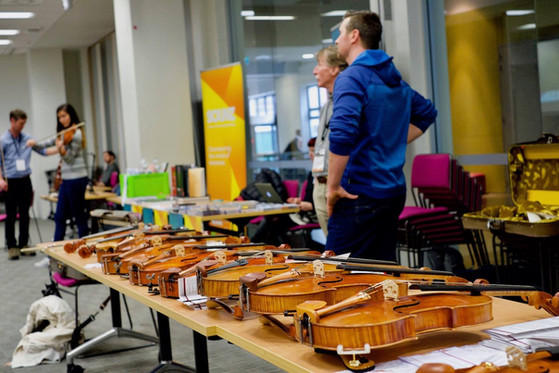 Luthier Trade Tables: 44th IVC 1-5 September 2017