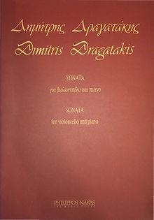 Sonata for Cello and Piano - Dragatakis-