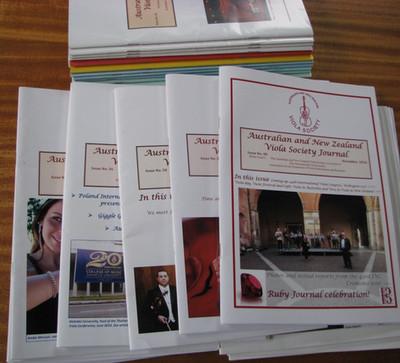 ANZVS Viola Journals