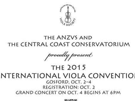 2016 Australian Viola Festival