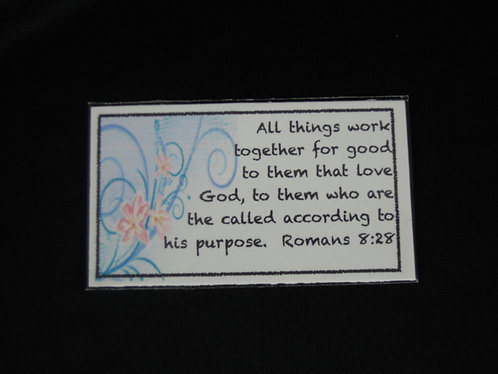 Rom 8:28 All Things Magnet