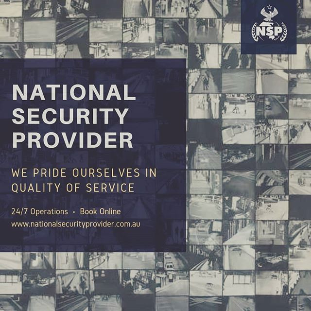 Book Us online at www.nationalsecuritypr