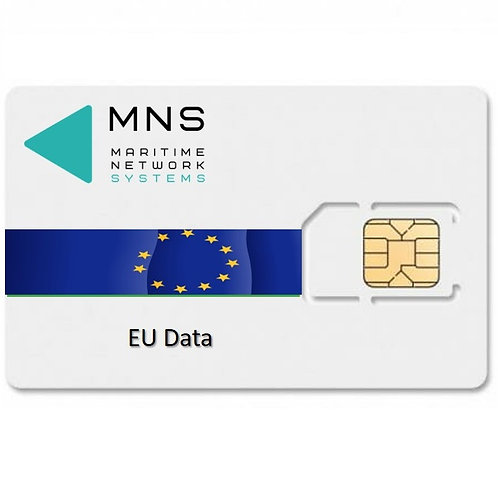 MNS EuroData SIM Activation - Choose your amount of Roaming Data on top