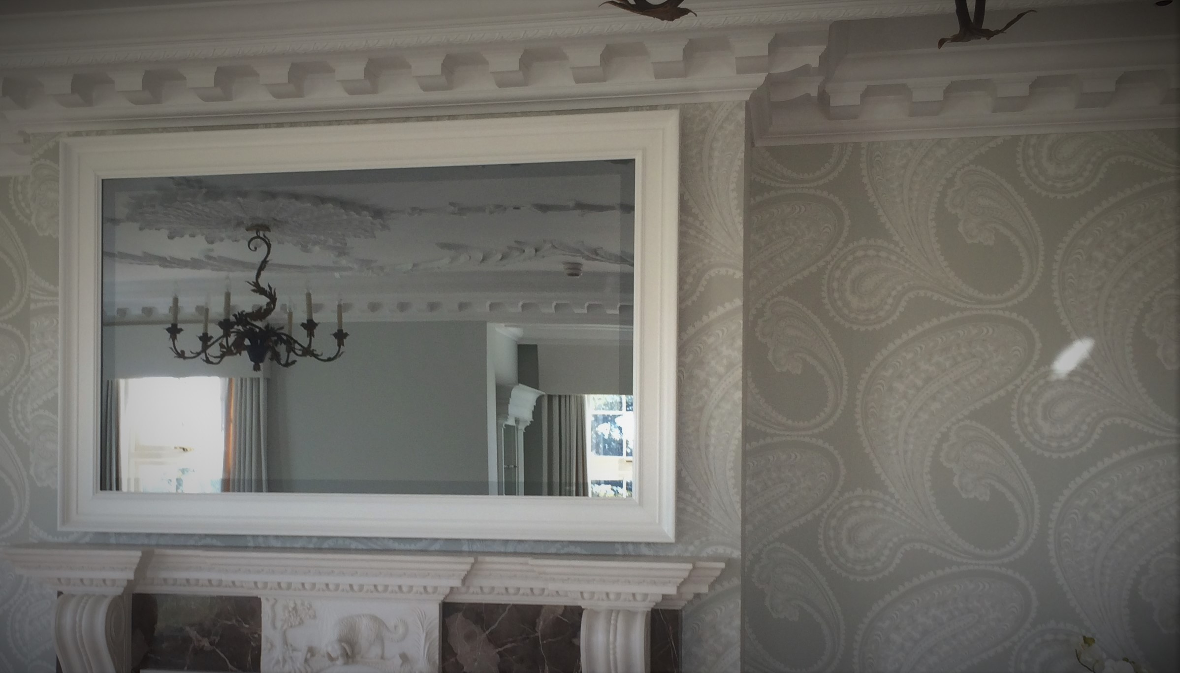 Mirror TV frame