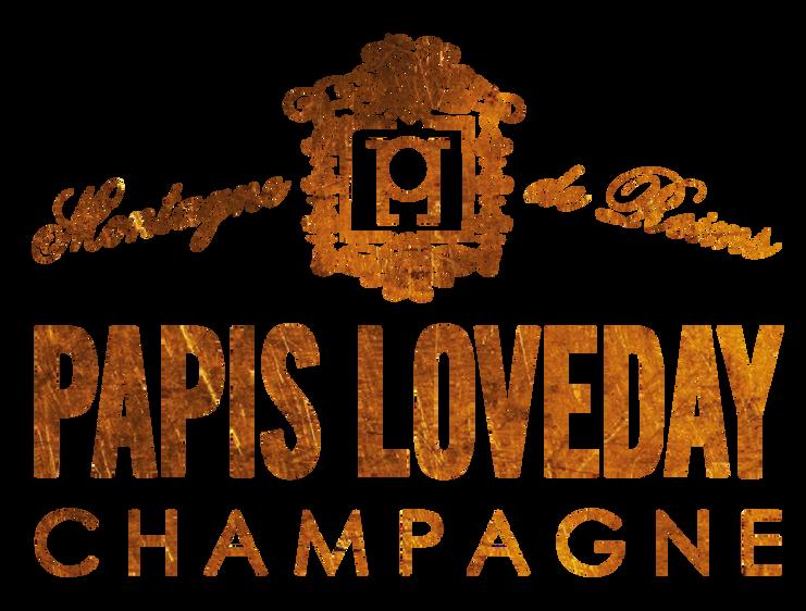 Champagne Papis Logo dark gold