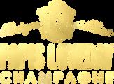Champagne Papis Logo light gold