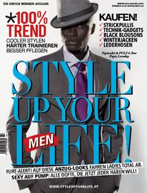 Style up your Life! men Magazine