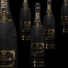 Champagne Papis Loveday Cuvee Brut black edition