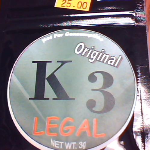 K3 Herbal Incense 3g