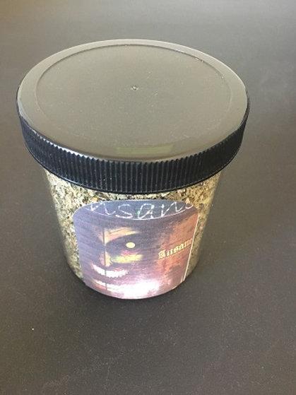 76 Grams Black Insane Herbal Incense