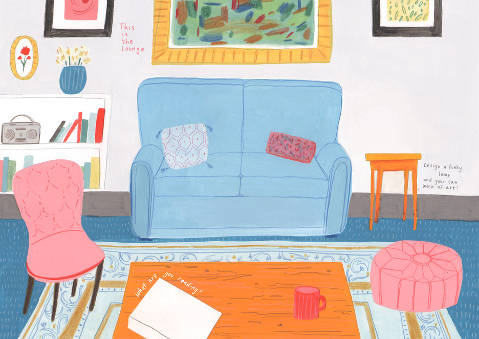 Home - An Activity Book