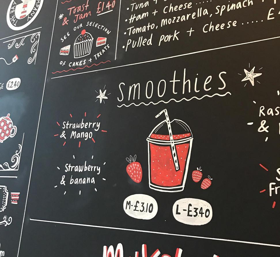 Smoothies and Milkshakes
