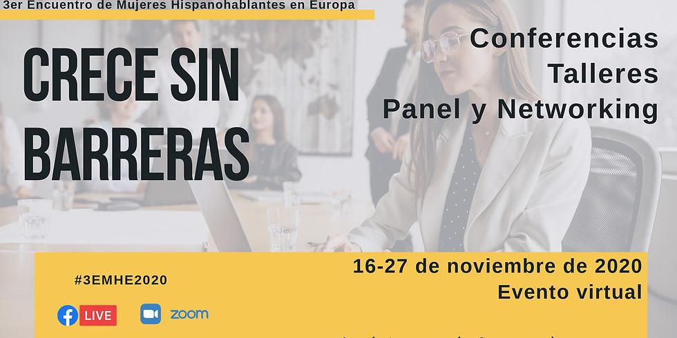 3er Encuentro de Mujeres Hispanohablantes en Europa